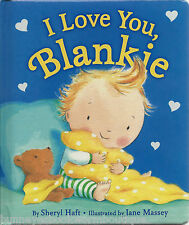 I LOVE YOU BLANKIE New BOARD Book BABY Toddler BANKIE Blanket SWEET Imagination