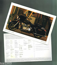 1998 Harley-Davidson FLHT ELECTRA GLIDE standard Photo Post Card: FREE SHIPPING