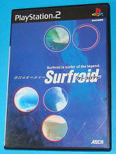 Surfroid - Sony Playstation 2 PS2 Japan - JAP