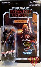 "DARTH MALGUS Star Wars EU 3 3/4"" inch Vintage Figure #VC96 Unpunched Card 2012"