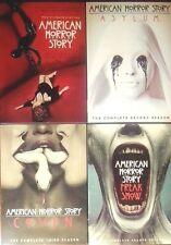 American Horror Story: Seasons 1 - 4 (DVD) Season 1, Asylum, Coven, Freak Show +
