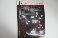 ICOM-A20 (GENUINE LEAFLET ONLY)..........RADIO_TRADER_IRELAND.