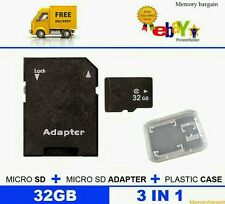 32GB Micro SD CARD CLASS 10 TF FLASH UNIVERSAL MEMORY CARDS FOR PHONES, TABLETS.