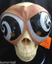 Funny Alien Bug Eyes HYPNOTIC MASK GOGGLES Cosplay Costume Party Gag-BLACK SWIRL