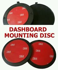 85MM CIRCULAR DASHBOARD MOUNTING DISC -- WITH 3M ADHESIVE PAD -- FREE UK POST