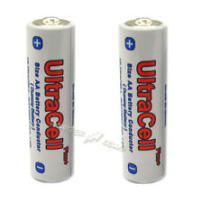 2 pcs Pack Dummy Battery AA Conduct Conductor Electric Current Ultracell plus