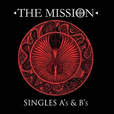 THE MISSION - SINGLES A'S & B'S - NEW CD ALBUM