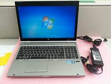 "HP EliteBook 8570P 15.6"", Intel i5@2.6GHz 8GB RAM 500GB HDD Win 7 