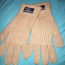 Armani Exchange Mens Workwear Patch Glove Nwot Beige A/x  Gloves