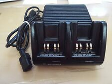 Dual desk top Charger for Motorola Visar, Model # NTN8375A with power cord