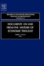 Documents on and from the History of Economic Thought Vol. 22B by Jeff Biddle...