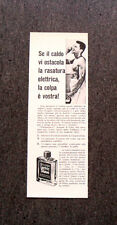 L782- Advertising Pubblicità - 1957 - WILLIAMS LECTRIC SHAVE