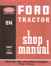 TRACTOR FORD 8n Service Manual Instruction Repair Workshop Manual on  CD
