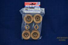 Tamiya 54527 RC F104 Mesh Wheel Set - Gold