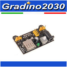 Alimentatore Stabilizzato per Breadboard - Arduino 5v - 3.3v USB Power Supply