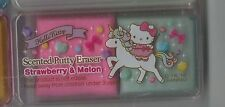 Sanrio Hello Kitty Eraser Scented Putty Eraser Strawberry and Melon