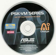 ASUS P5K-VM Motherboard Drivers Installation Disk M1204
