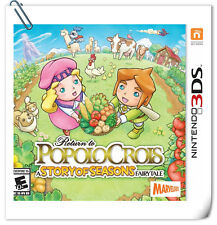3DS Nintendo Return to PoPoLoCrois: A Story of Seasons Fairytale Xseed Games RPG