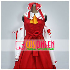 Cosonsen Touhou Project Hakurei Reimu Immaterial and Missing Power Cosplay Red