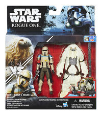 STAR WARS ROGUE ONE MOROFF VS. SCARIF STORMTROOPER SQUAD LEADER 2-PACK / 3,75""