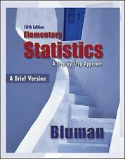 Elementary Statistics A Step By Step Approach Brief Version by Bluman