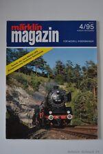 """märklin Magazin """"Die Zeitschrift...."""" Ausgabe 4 / 1995 - Zustand: 2   #21956#"""