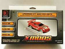 Radio Shack Xmods Upgrade Kit Red Body & Lights 1:24 Scale Customize RC Vehicles