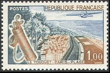 France 1962 tourisme/golf/avion/arbres/sports/jeux/aviation/transport 1v (n41922)