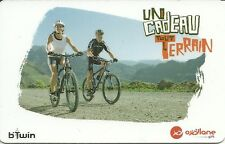 RARE / CARTE CADEAU : DECATHLON - VTT VELO CYCLE CYCLISME BIKE MONTAGNE / CARD