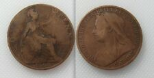 Collectable 1900 Queen Victoria One Penny Lot 3
