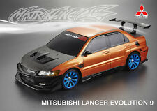 Body Kit, Hood, Front Bumper, & Aero Kit for Evo 9 RC Drift Matrixline US Seller