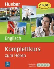 ENGLISCH HÖRKURS KOMPLETTAUSGABE MIT 8 AUDIO-CDs BEGLEITHEFT LERNEN OHNE BUCH