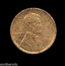 1916   **   CH RED / RB  UNC   **   Lincoln Cent (339-309)