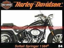 HARLEY DAVIDSON FLSTSC 1584 Softail Springer Description Fuengirola Les Moteurs