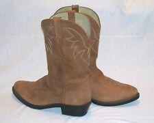 Durango Men's Tan Leather TR764 Western Cowboy Boots 9 1/2 D