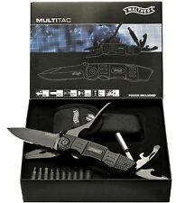 Walther MTK multi TAC Knife multifunción cuchillo multi herramienta combi alicates 5.0718 nuevo
