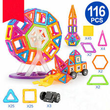 116 PCS Similar Magformers Toys Magspace Magnetic building blocks Construction