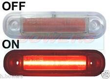12V/24V RED REAR LED MARKER/POSITION LAMP/LIGHT SCANIA VOLVO MAN MERCEDES ERF