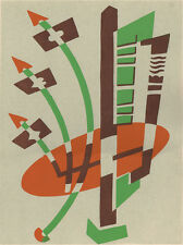 ART DECO SERGE GLADKY POCHOIR, Nouvelles Compositions Decoratives, 1929