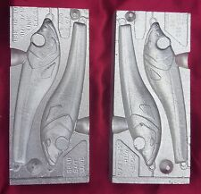 Shad bait fishing lure mould mold sinker tackle 4 & 6 oz
