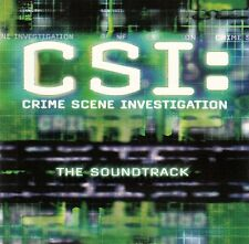 CSI: CRIME SCENE INVESTIGATION - THE SOUNDTRACK / CD - TOP-ZUSTAND