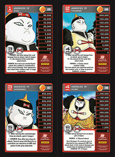 Android 19 Lv1-4 Set 4 Main Personality Lot MP Villain Panini Evolution DBZ CCG