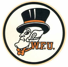 Wake Forest University-- Circle  Vintage-Looking   Travel Decal  Sticker