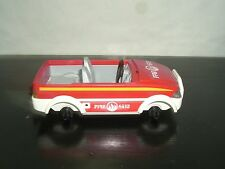 PLAYMOBIL 4512 4822 FIRE CHIEF DEPARTMENT CAR FOR PARTS