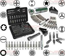 105pc Security Bit Tool Kit Set Plastic Anti-Tamper Tab Plug Seal Unlock Repair