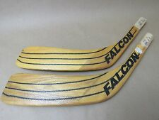 Lot of 2 FALCON Hockey Stick Replacement Blades F54 & F56  LEFT