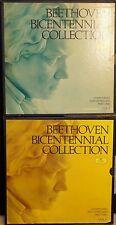 10 NM LPs  Volumes 1 & 2 Beethoven Bicentennial Collection, 9 Symphonies, DGG DG