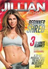 Cardio & toning DVD - JILLIAN MICHAELS Beginner Shred - 3 Workouts!