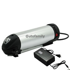 DuraB 24V10AH Lithium E-bike Bottle Battery for Electric Bicycle + A DC Charger