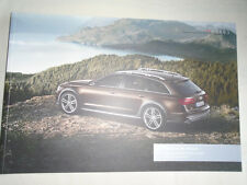 Audi A6 allroad range brochure Apr 2014